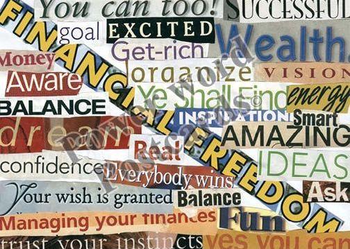Financial Freedom…  Ready To Receive Abundance